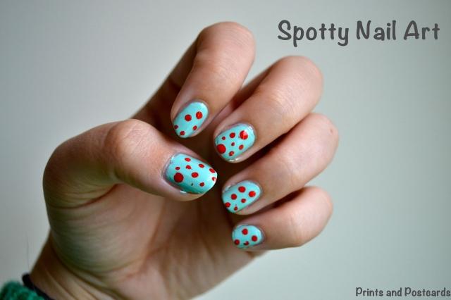 spotty nail art copy