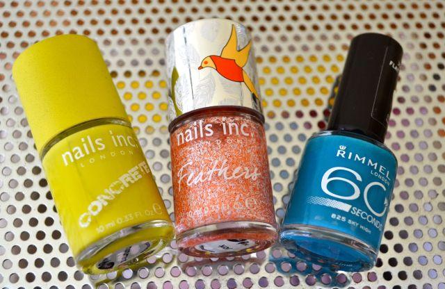 concrete nails trio