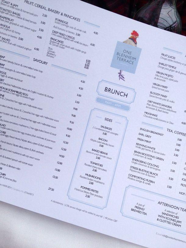OBT menu