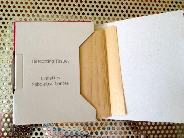oil blotting 2